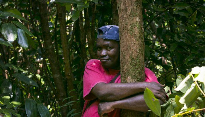 Clovis Razafimalala: em risco por defender a floresta tropical de Madagáscar