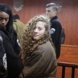 Urgente: liberdade para a jovem palestiniana Ahed Tamimi!
