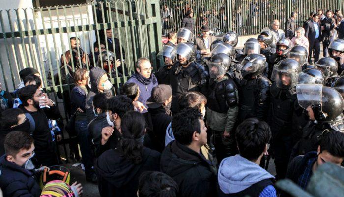 Irão tem de parar desumana repressão de protestos e investigar as mortes de manifestantes