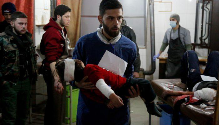 Síria: Fim imediato dos bombardeamentos a Ghouta oriental