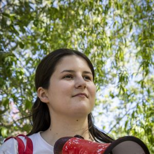 Protejam a ativista ucraniana Vitalina Koval!