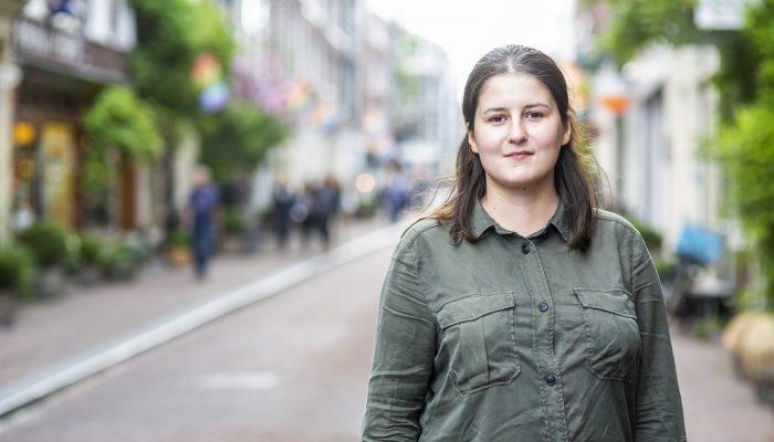Vitalina Koval: atacada violentamente por defender os direitos LGBTI