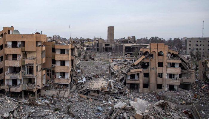 """Admissão de mortes civis em Raqqa é a """"ponta do icebergue"""" na operação militar da coligação liderada pelos EUA na Síria"""