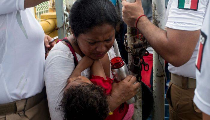 Planos cruéis de Trump para bloquear caravana de pessoas em busca de asilo não podem prevalecer