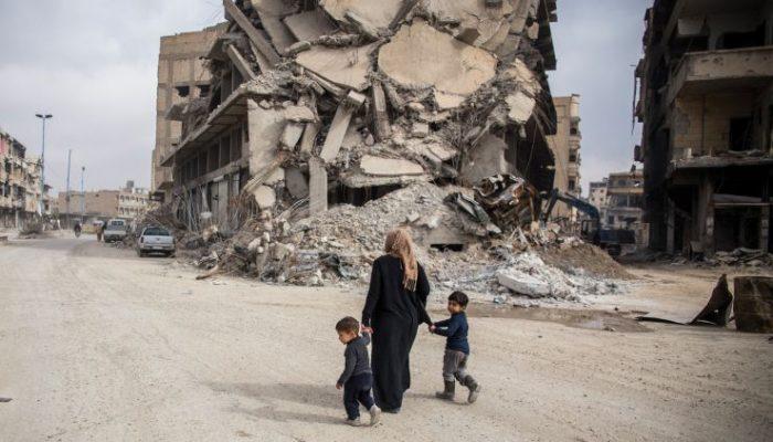Centenas de pessoas e instituições mobilizadas em Portugal para ajudar a investigar a destruição de Raqqa