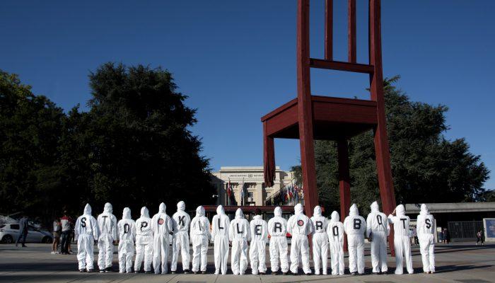 Robôs assassinos: oposição pública cresce enquanto estados continuam a protelar