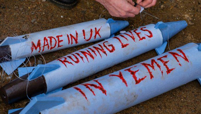Reino Unido: Tribunal declara exportação de armas para a Arábia Saudita ilegal