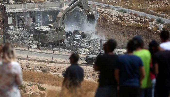 Israel prossegue política de desalojamentos com demolições em Sur Baher