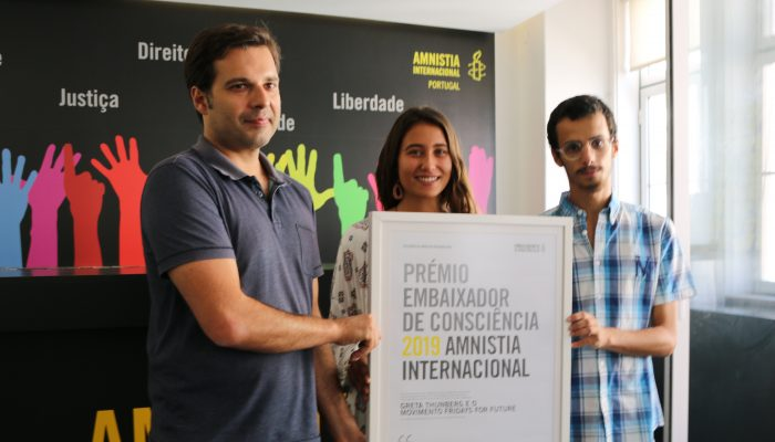 Amnistia Internacional distingue Fridays For Future em Portugal