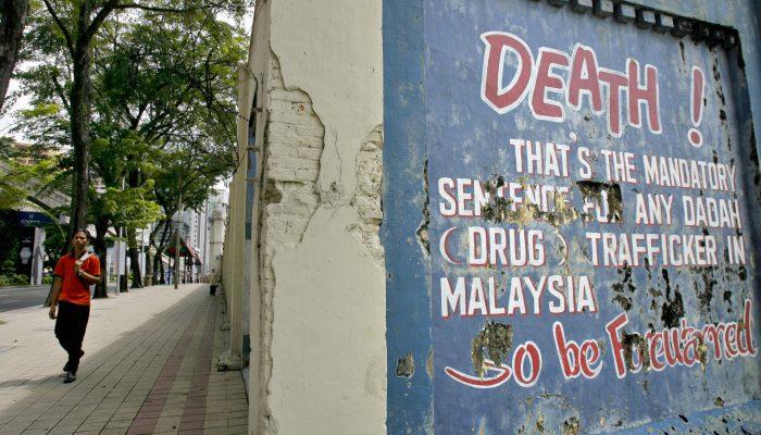Malásia: Pena de morte deve ser condenada ao passado