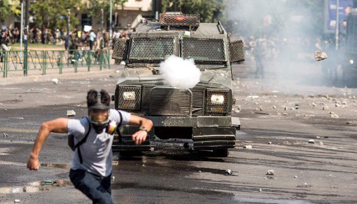 Chile: Ordem para reprimir