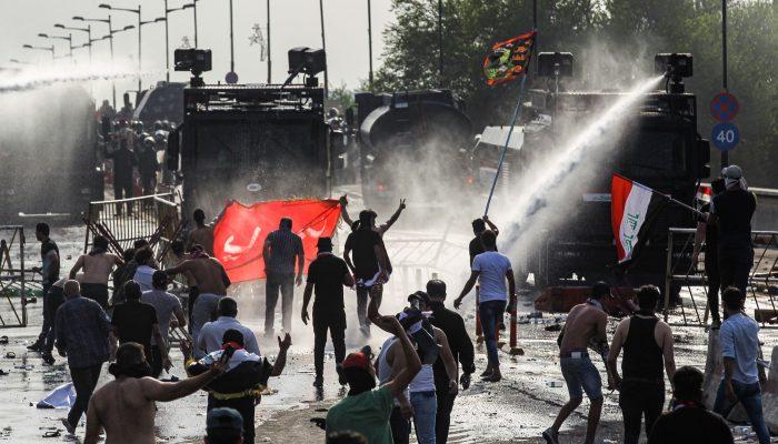Repressão e morte de manifestantes no Médio Oriente