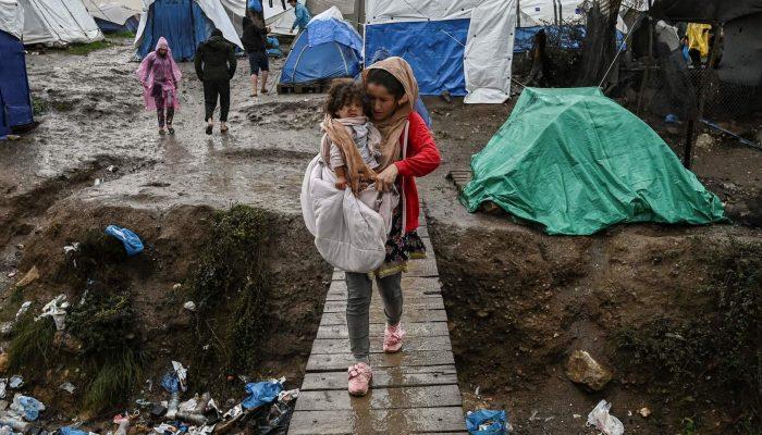 Medo da fome nos campos de refugiados é tão grande como da pandemia