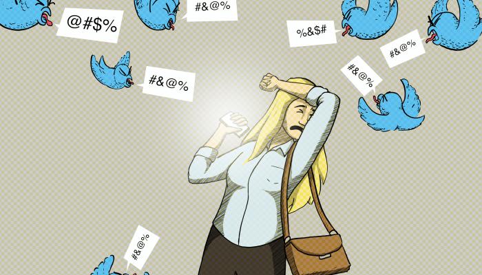 Twitter tem de fazer mais para acabar com violência e abusos contra mulheres