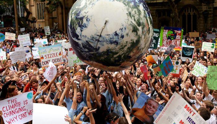 Líderes mundiais devem agir para enfrentar a crise climática