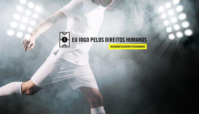 Eu jogo pelos direitos humanos