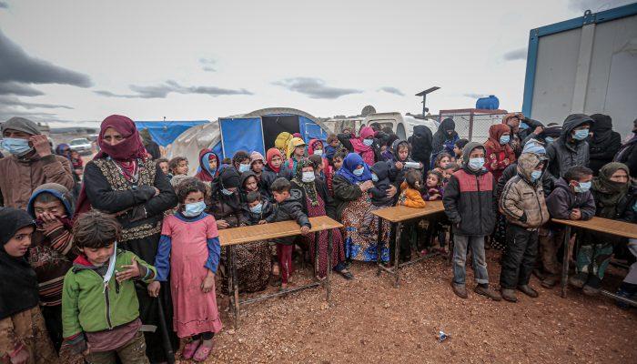 COVID-19: Milhares de vidas em risco na Síria devido à falta de respostas adequadas do governo