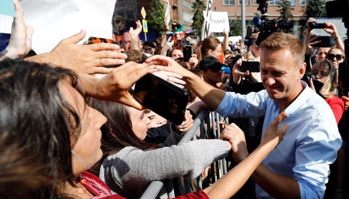 Aleksei Navalny deve ser libertado imediatamente (petição encerrada)