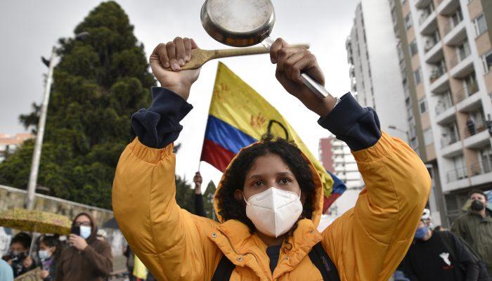 Colômbia: Desaparecimentos e violência sexual contra manifestantes