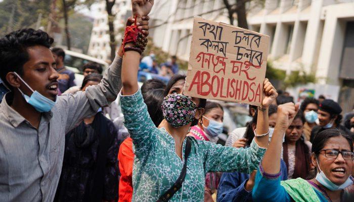 Bangladesh: Repressão da liberdade de expressão online