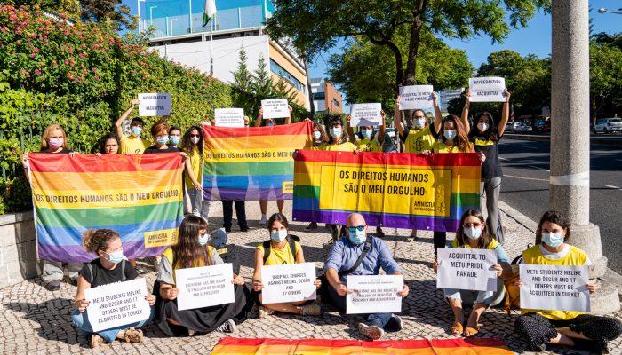Ação solidária para absolvição de Grupo de Solidariedade LGBTI+ na Turquia